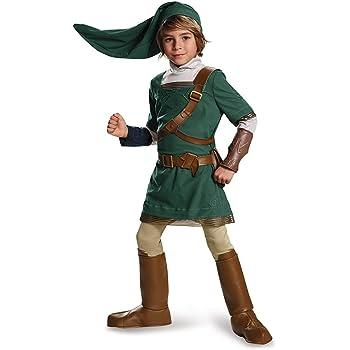 Disguise Link Prestige Legend of Zelda Nintendo Costume, Medium/7 ...