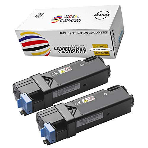 Global Cartridges Compatible Toner Cartridge Replacement for Dell 2150/2155 High Yield Black 331-0719 (2 x Pack)