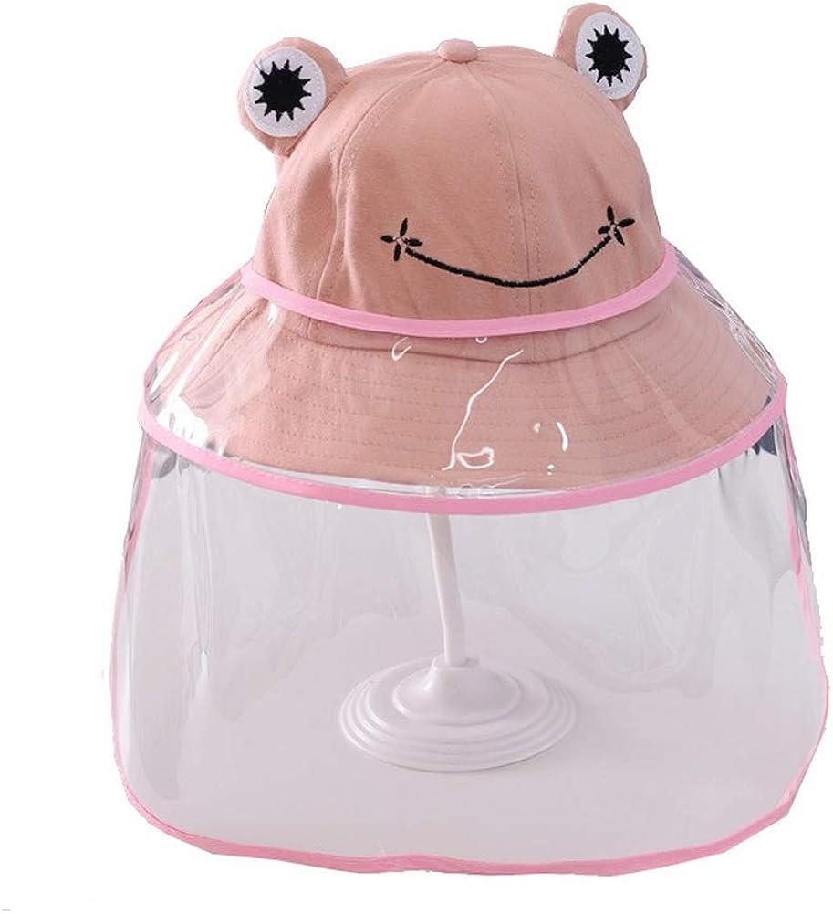 Zegoo Kids All items in the store Cartoon Frog Bucket Fishermen Sales for sale Boys Sun Girls Hat