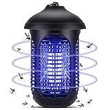 YISSVIC Lampada Antizanzare Elettrica, 20W Zanzariera Elettrica, 4000V Luce UV e Cassetto, per Casa Giardino Interno Esterno Cucina Soggiorno 100 m²