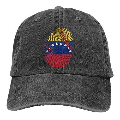 N/A Sombrero De Sol,Dad Hat,Sombreros Sombrilla Al,Ocio Sombrero,Sombrero De Deporte,Venezuela Flag Baseball Está En Mi ADN Denim Jeanet Gorra De Béisbol Ajustable Dad Hat