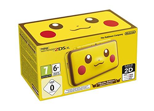 Nintendo Handheld Console - New Nintendo 2DS XL - Pikachu Edition - Nintendo 3DS [Importación inglesa]