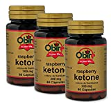 Chetoni (lampone) 300 mg. 60 capsule (Pack 3 pezzi)