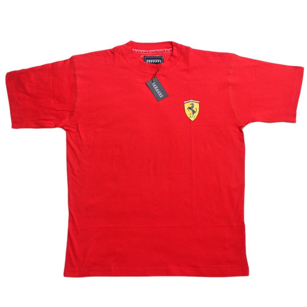 Ferrari Small scud TSH pe08 – Camiseta para hombre Scuderia Ferrari Team té de Fórmula 1 F1 Rojo Camisa Top Cotton, rojo, 2XL: Amazon.es: Deportes y aire libre