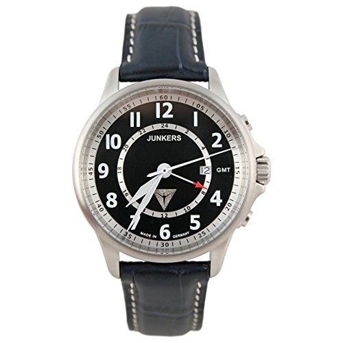 Junkers Quarz Herren Armbanduhr Edition Tante JU 6848-4
