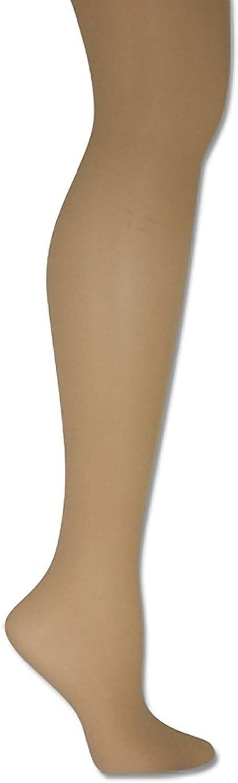 Donna Karan Womens Hosiery Signature Sheer Satin Pantyhose, Plus Petite