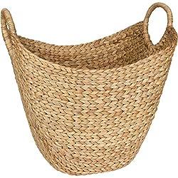 Woven Wicker Pattern Basket