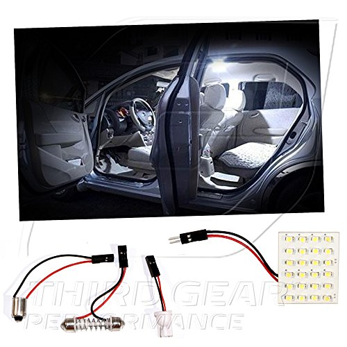 TGP White 24 LED SMD Panel Light Bulb for Dome Light Application 2004-2012 Compatible with Subaru Outback (All)