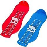 JPYH Dispositivo per Misurare i Piedi, 2 Pezzi Misuratore del Piede per Bambini, ideale per scegliere la misura corretta di scarpe per il tuo bambino