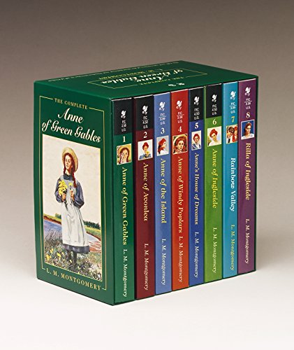 Anne of Green Gables, Complete 8-Book Box Set: Anne of Green Gables; Anne of the Island; Anne of Avonlea; Anne of Windy Poplar; Anne's House of ... Ingleside; Rainbow Valley; Rilla of Ingleside (Best Cable Tv Series Ever)