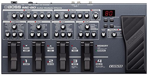 Roland ME-80 Guitar Multiple Effects, Black