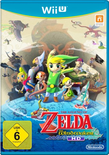 Nintendo The Legend of Zelda: The Wind Waker HD, Wii U - Juego (Wii U, Wii U, Acción / Aventura, Nintendo, DEU, Básico, Nintendo)