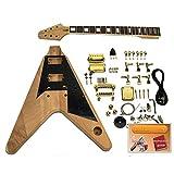 Kit de guitarra DIY - Flying-V, caoba