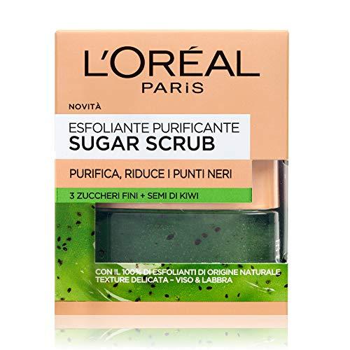 L'Oréal Paris Scrub Viso e Labbra Sugar Scrub,...