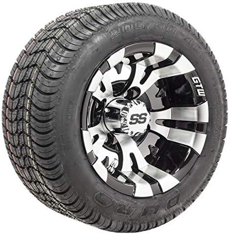 (Set of 4) Golf Cart Wheels & Tires –...