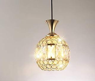 Modern Crystal Pendant Lamp Minimalist Industrial Bedroom Classic Single Head Chandelier