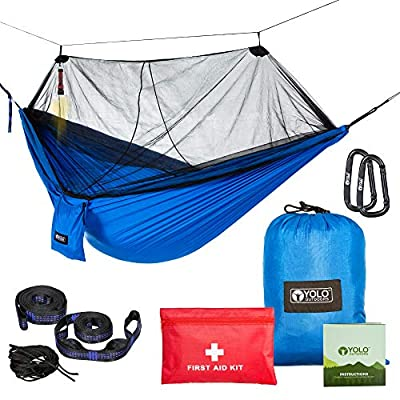 Hard-Working Portable Outdoor Fabric Camping Hanging Hammock Mosquito Net Parachute Bed Fragrant Aroma Home Textile