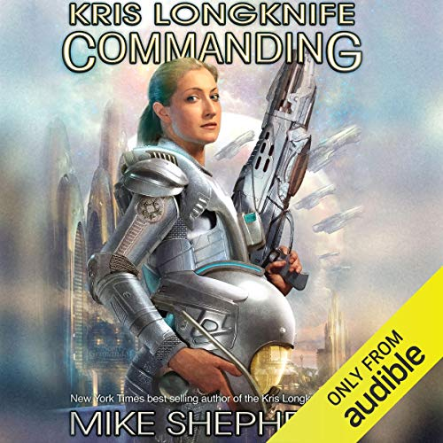 Commanding audiobook cover art