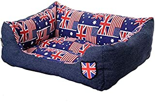 Mumoo Bear Pet Dog Beds for Large Dogs Waterproof Bottom Dog Bed Mat for Canvas Detachable and Washable Warm Cat House Pet...