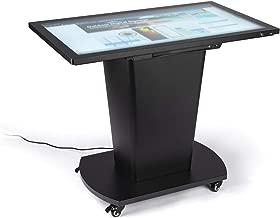 Displays2go Interactive Digital Touch Table, 10pt PCAP Display – Black (FDDIGTBL43)