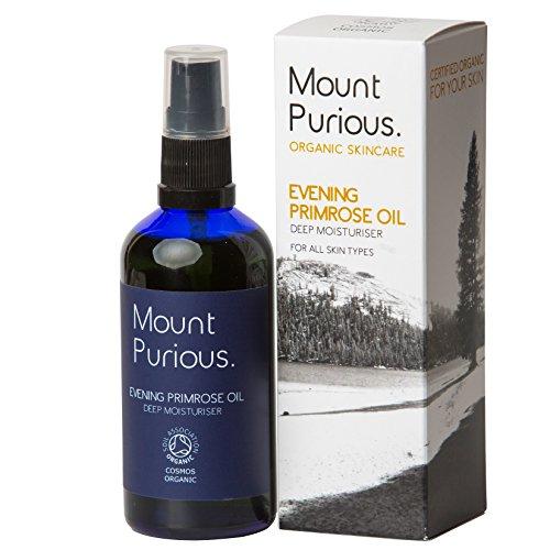 100% orgánico certificado Evening Primrose Oil–cada crema hidratante de día para piel madura, sensible. Vegan/Crueldad libre/prensado en frío. (100ml)