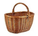 Mimbre cesta de mimbre tradicional de compras Durable y resistente 50/33/25–35cm PM24/113