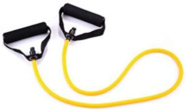 Rope resistance For fitness exercises Fitnes World yellow