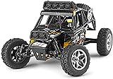 Cool LED Light RC Car 1:18 Vehículo Todoterreno de Escalada de Gran tamaño 2.4GHZ Control Remoto inalámbrico Coche eléctrico 40KM/H Control Remoto de Alta Velocidad Rock Crawler Monster TR