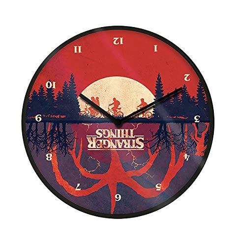 Stranger Things Reloj de Pared Upside...