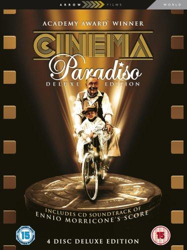 Cinema Paradiso (4 Disc Deluxe Edition Box Set) [1989] [DVD] [UK Import]
