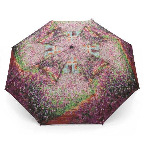 Galleria Regenschirm Taschenschirm + Claude Monet + SOMMERGARTEN. - Rosemarie Schulz Regenschirme & Geschenkideen für Damen