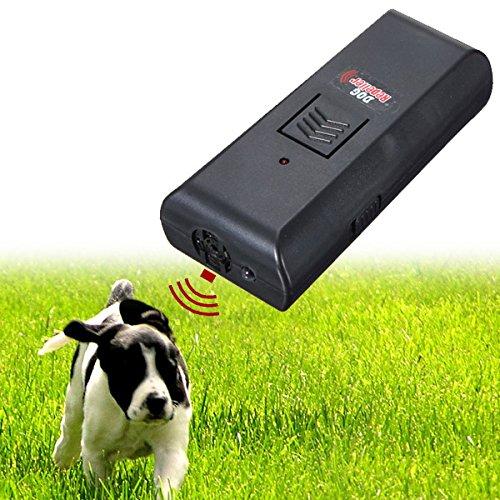 EsportsMJJ Ultrasónico Mascota Perro Ahuyentador De Ladridos Entrenar Entrenador De Perros