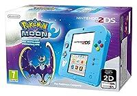Include una console Nintendo 2DS edizione speciale, scheda di memoria SD di 4 GB e alimentatore + gioco Pokémon Luna pre-installato Doppio schermo di gioco di cui uno touch screen, connettività multiplayer sia in remoto che on-line (necessaria connes...