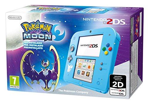 Nintendo 2DS Special Edition + Pokémon Luna Preinstallato - Limited [Importación Italiana]