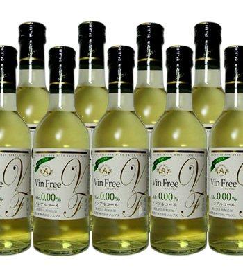 アルプスワイン ヴァンフリー VinFree 白 300ml ×24本 ハーフボトル ノンアルコールワイン 0.00%