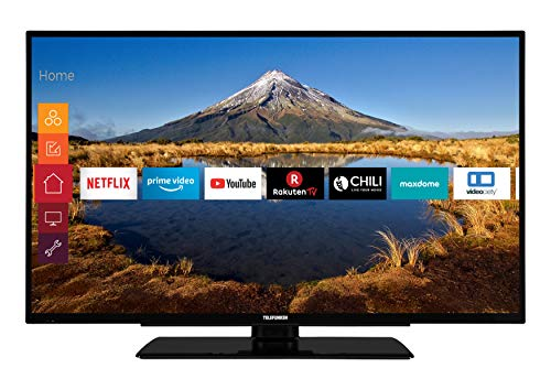 Telefunken XF40G511 102 cm (40 Zoll) Fernseher (Full HD, Triple Tuner, Smart TV, Prime Video)