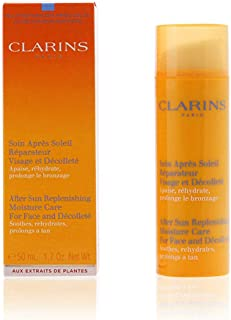 Clarins After Sun Replenishing Moisture Care (For Face & Decollete) by Clarins for Unisex - 1.7 oz Moisture Care, 51 milliliters