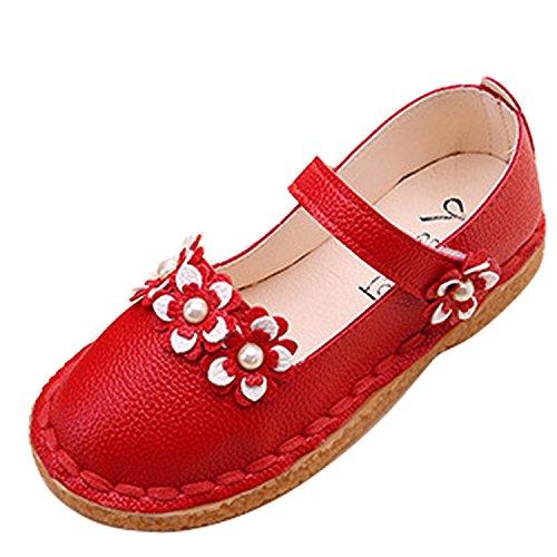 Zapatos de bebé Mary Jane con suela suave, correa de velcro, zapatos...