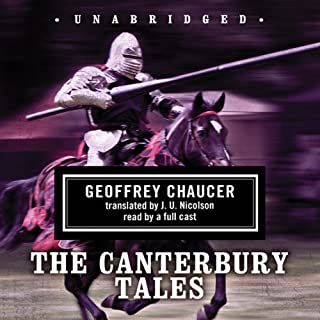 The Canterbury Tales [Blackstone] audiobook cover art
