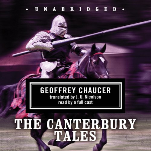 The Canterbury Tales [Blackstone] copertina