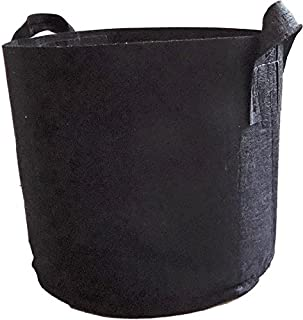 Bootstrap Farmer Grow Bags 5 Gallon Fabric Plant Pots with Handles, 10 Pack