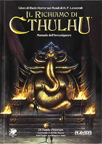 De reputatie van Cthulhu handmatig rollenspel van de uitvinder