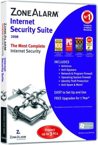 ZoneAlarm Security Suite 2008 (3 PC)