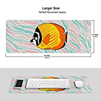 こだわりの珈琲 マウスパッド キーボードパッド 滑らかマウスパッド ゲーミングパッド 大型 オフィス 家庭用