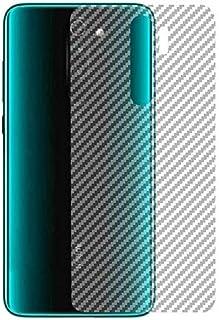 ستكر ملصق حماية ظهر شفافة لهاتف شاومي نوت 8 برو - بتصميم ألياف الكربون