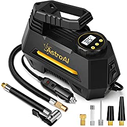 top rated AstroAI Air Compressor Tire Inflator, Portable Car Tire Pump 12V DC Car Tire Inflator, with Air Conditioner 2021