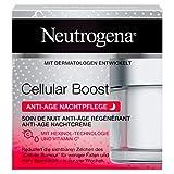 Neutrogena Cellular Boost Anti-Age Nachtpflege, mit Hexinol undVitamin C, 1 x 50 ml