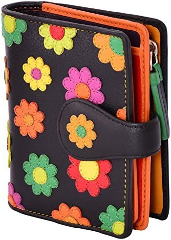 Visconti Year-end annual account Sunshine Daily bargain sale DS-80 Womens Floral Walle Multi Bifold Colored