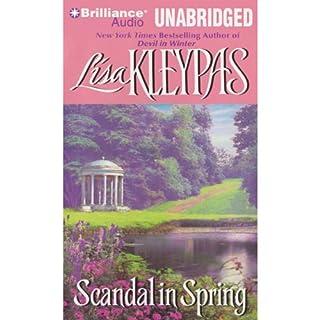 Scandal in Spring audiobook cover art