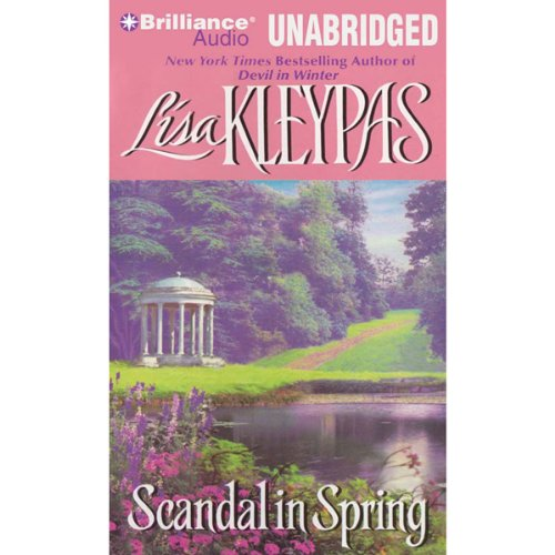 Scandal in Spring audiobook cover art